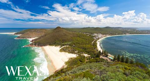 Tomaree Head Lookout, Port Stephens, Hunter