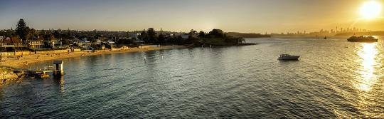 Sunset at Camp Cove, Watsons Bay
